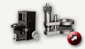 Linear Positioning Stage, modular or compact design.