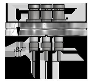 SHV Feedthrough Schematic