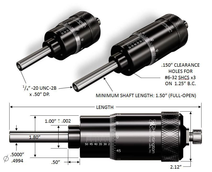 Micrometer Schematic