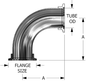 VF-152L-SF Elbow fitting