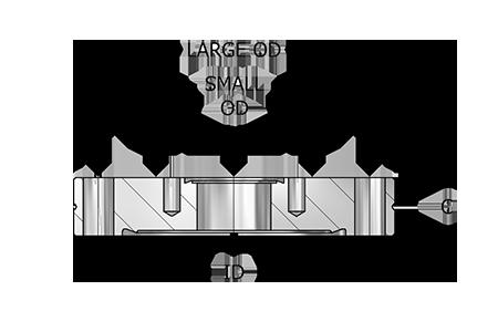 Zero Length Adapter Flanges