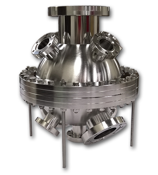 Small Spherical Vacuum Chamber