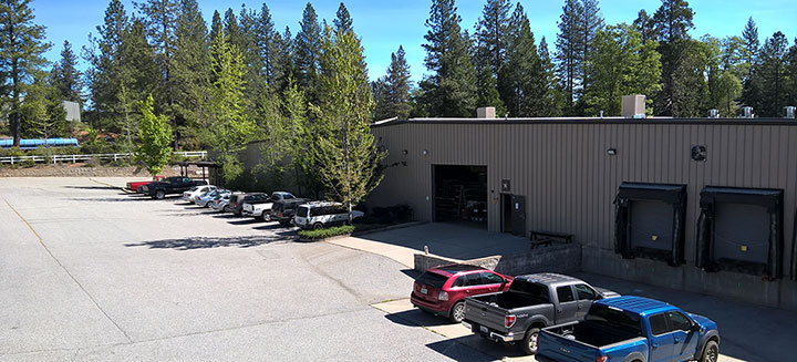Our plant in Grass Valley, CA.